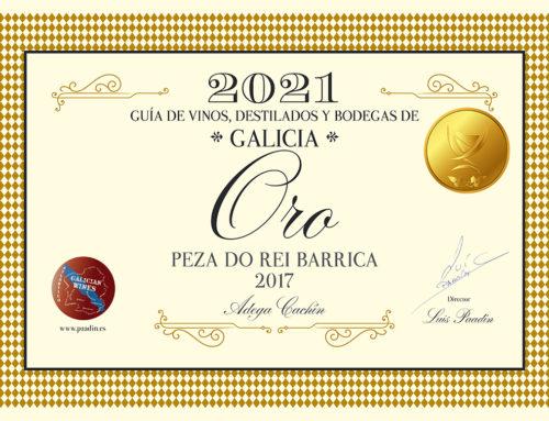 Peza do Rei recibe medallas de la Guía de vinos.