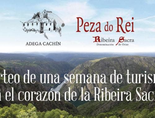 Participa en el sorteo de una semana de turismo en el corazón de la Ribeira Sacra.